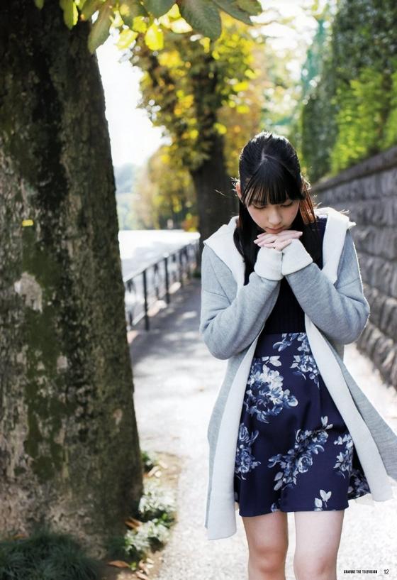 松岡菜摘 ヤングジャンプ最新号のHKT48なつ水着グラビア 画像35枚 25