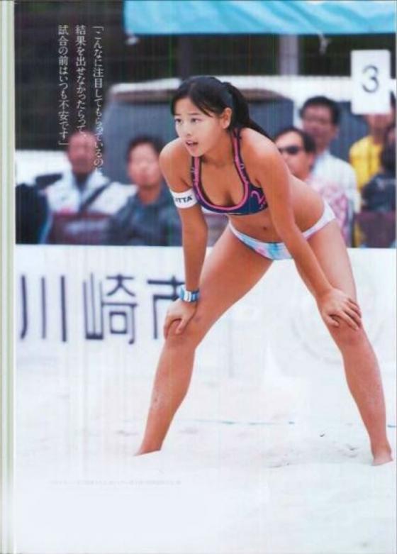 坂口佳穂 ビーチバレー界のアイドルが新水着でマイナビ所属会見 画像19枚 15