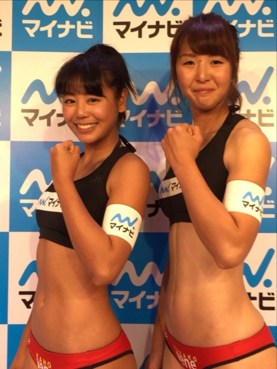 坂口佳穂 ビーチバレー界のアイドルが新水着でマイナビ所属会見 画像19枚 1