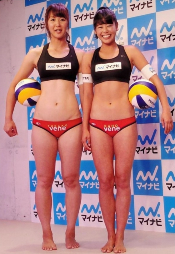 坂口佳穂 ビーチバレー界のアイドルが新水着でマイナビ所属会見 画像19枚 5
