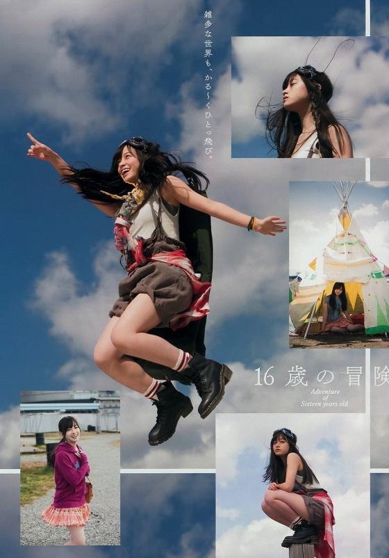 橋本環奈 ヤングマガジンの腋見せ美少女最新グラビア 画像30枚 26