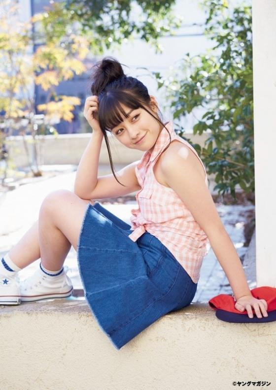 橋本環奈 ヤングマガジンの腋見せ美少女最新グラビア 画像30枚 8