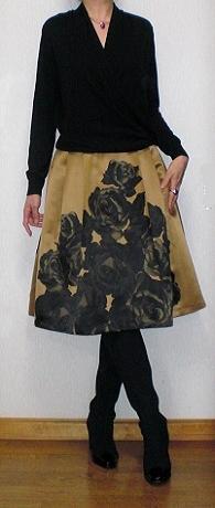 薔薇スカート