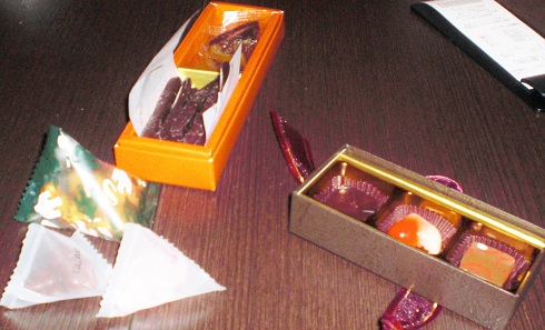 かじかそう チョコレート