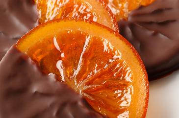 オレンジチョコレート