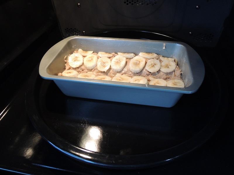 予熱したオーブンへ入れます