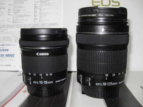 EF-S18-135mm F3.5-5.6 IS STMとの比較