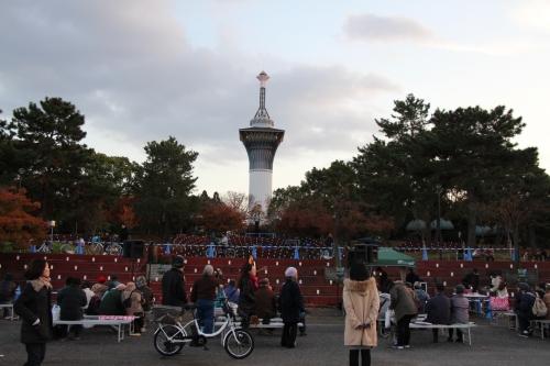 鶴見緑地 鶴見光の花桟敷
