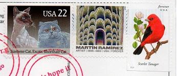 切手7  アメリカ