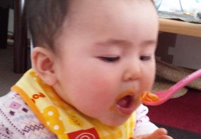 1月6日ベビーソーメン+トマト+かぼちゃ1