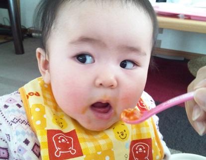 1月6日ベビーソーメン+トマト+かぼちゃ3