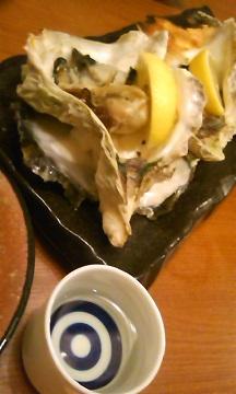 牡蠣と強力