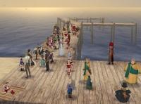マディラ祭桟橋