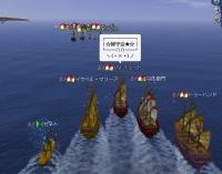 大海戦0117緑艦隊