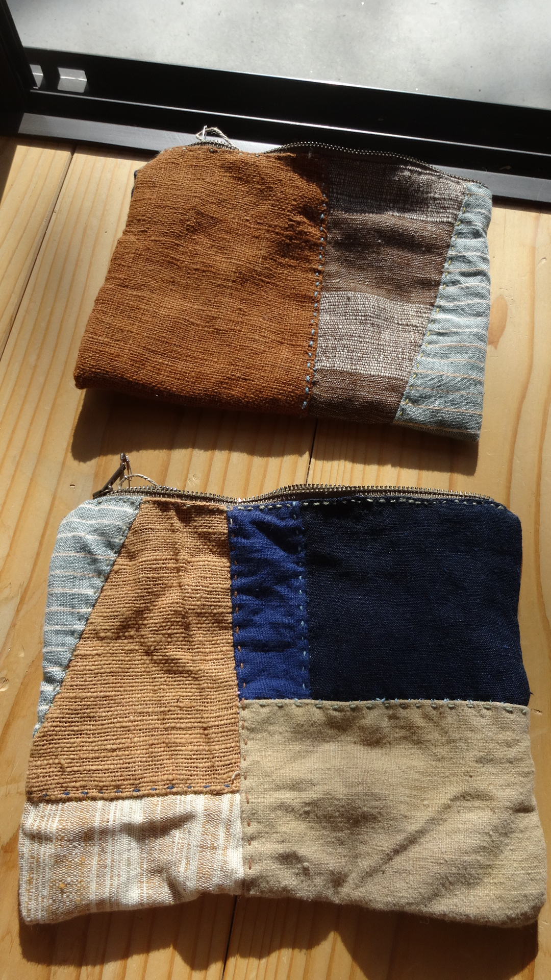 草木染め手縫い小物パースAB2