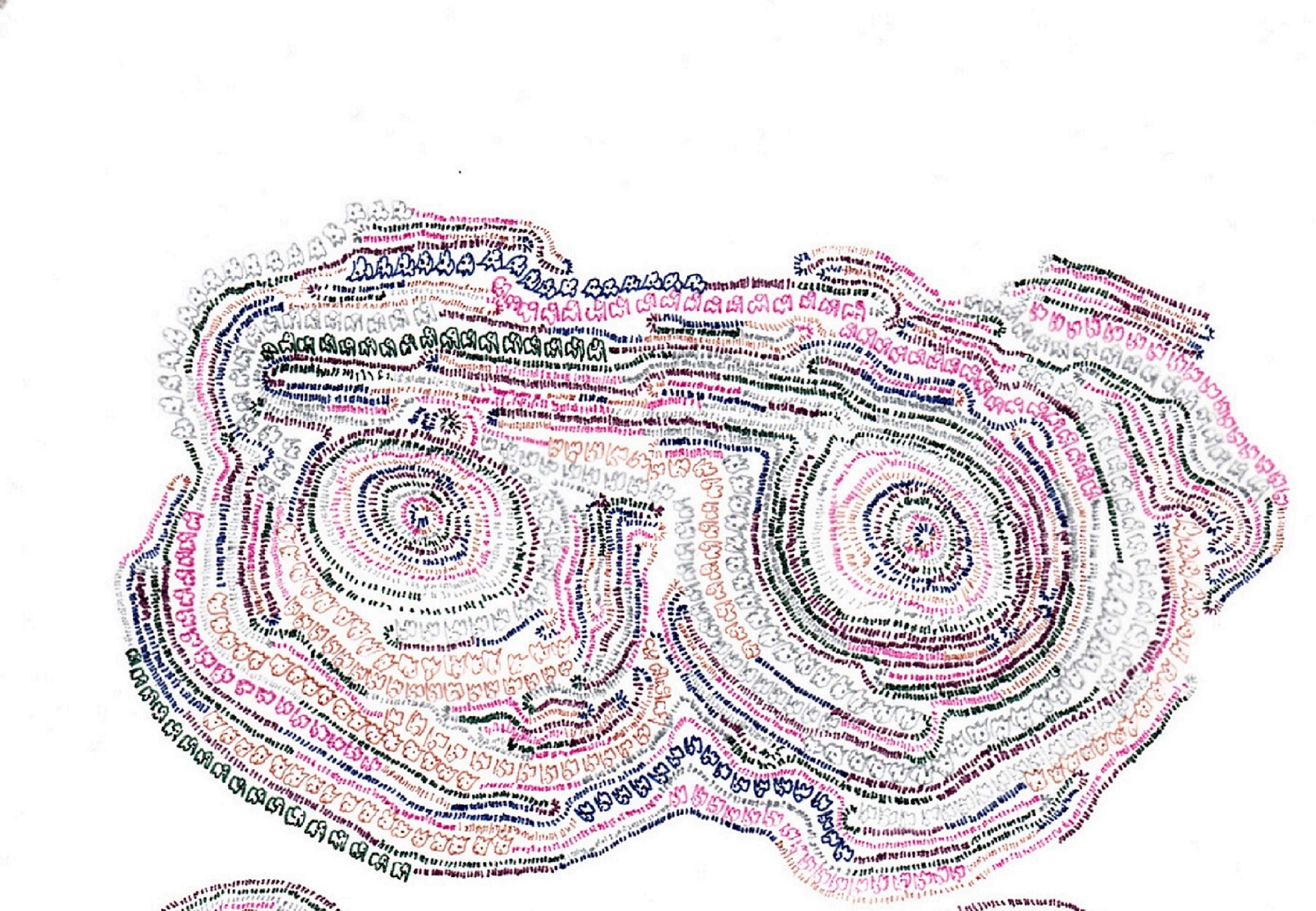 象のいる細密画04(12-12)