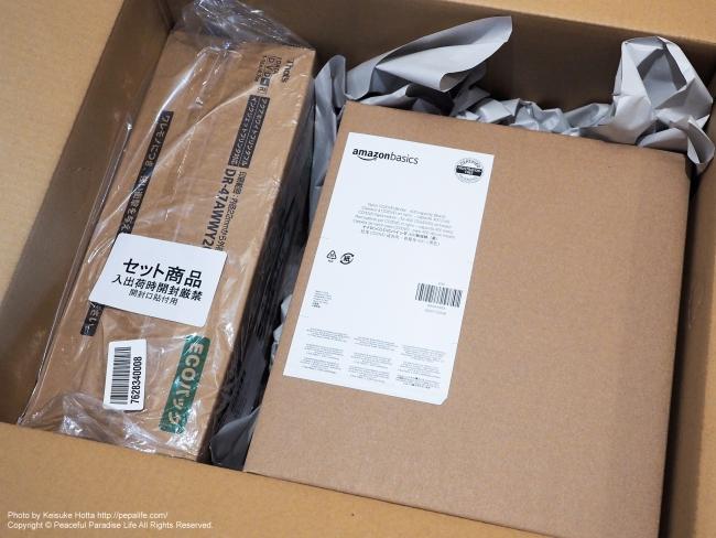 That's DVD-R エコパックとAmazonベーシックCD/DVDウォレット