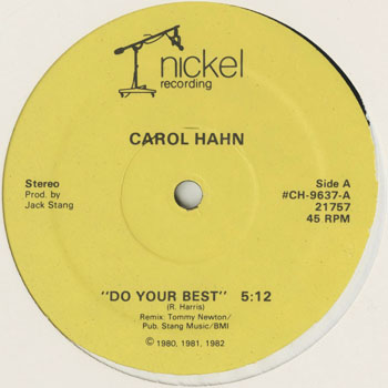 DG_CAROL HAHN_DO YOUR BEST _201601