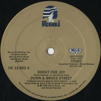 DG_DUNN and BRUCE STREET_SHOUT FOR JOY_201601