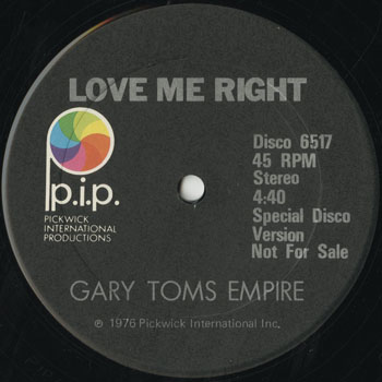 DG_GARY TOMS EMPIRE_LOVE ME RIGHT_201601