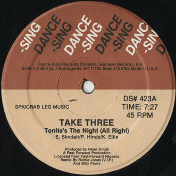 DG_TAKE THREE_TONITES THE NIGHT_201601