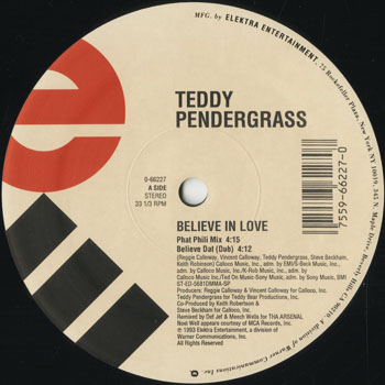 DG_TEDDY PENDERGRASS_BELIEVE IN LOVE_201601
