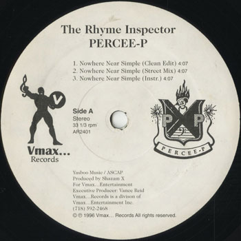 HH_RHYME INSPECTOR PERCEE P_NOWHERE NEAR SIMPLE_201601