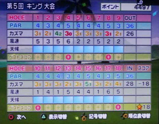 みんなのゴルフ4をプレー 第17回 (10)