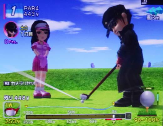 みんなのゴルフ4をプレー 第17回 (6)