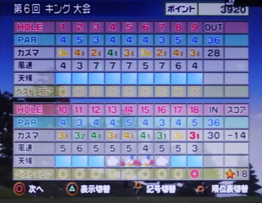 みんなのゴルフ4をプレー 第17回 (18)