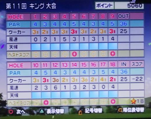 みんなのゴルフ4をプレー 第17回 (21)