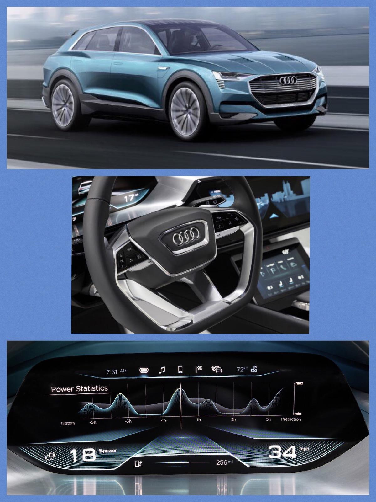 Audi quatrro アウディ クアトロ e-tron