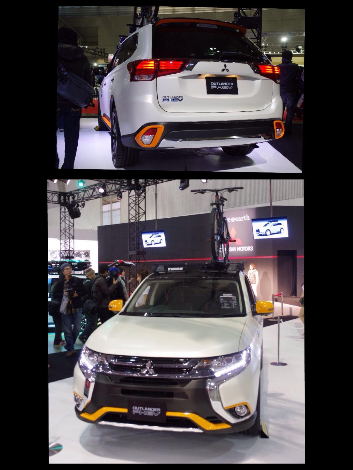 アウトランダーPHEV アウトドアギアコンセプト 東京オートサロン2016
