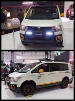デリカD5 アウトドアギアコンセプト 東京オートサロン2016