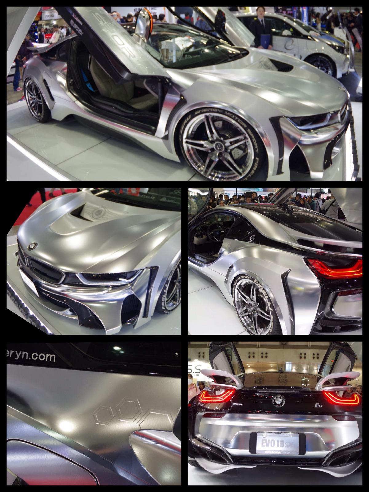 BMW i8 東京オートサロン2016エナジーコンプリートカーEVO i8