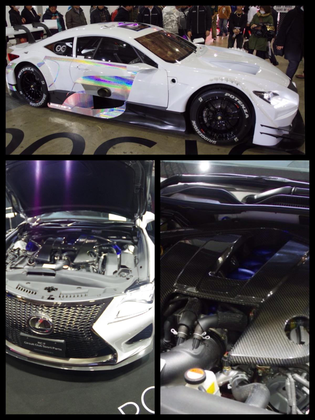 レクサス LEXUS RC F GT500仕様東京オートサロン2016