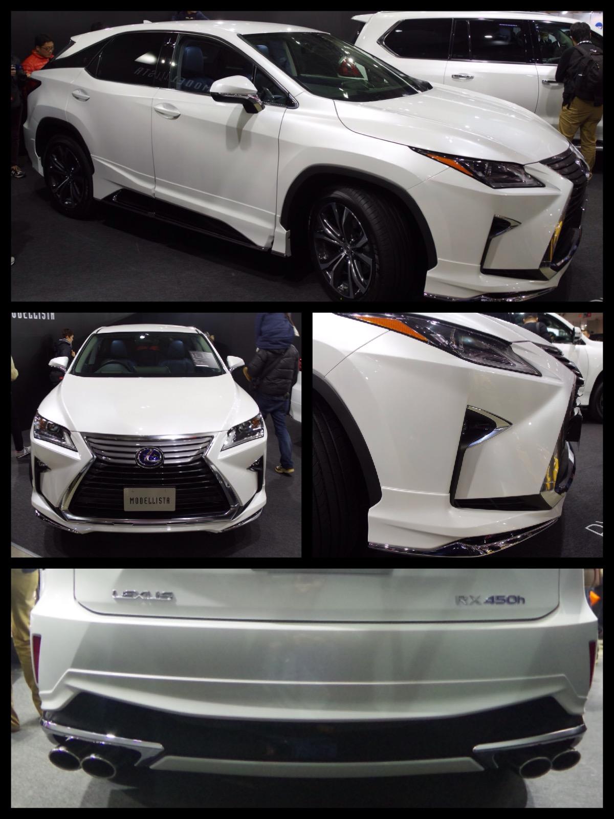 レクサス RX モデリスタ 東京オートサロン2016