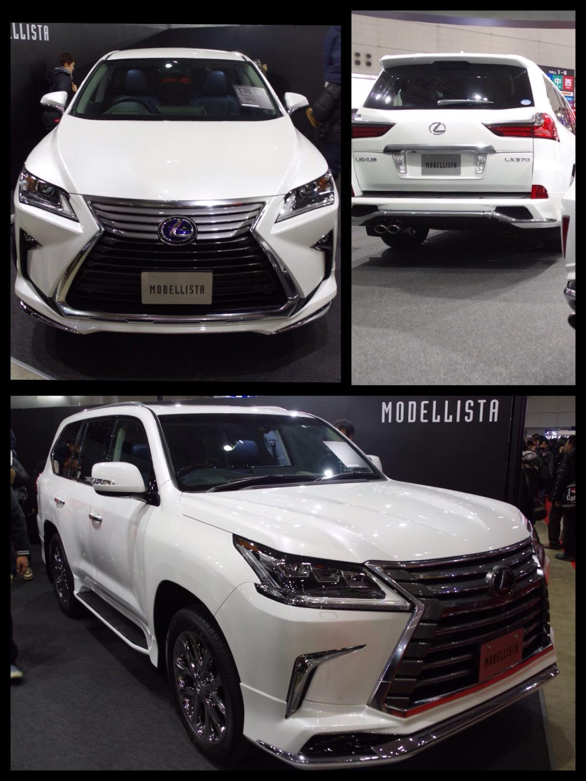 レクサス LX モデリスタ 東京オートサロン2016