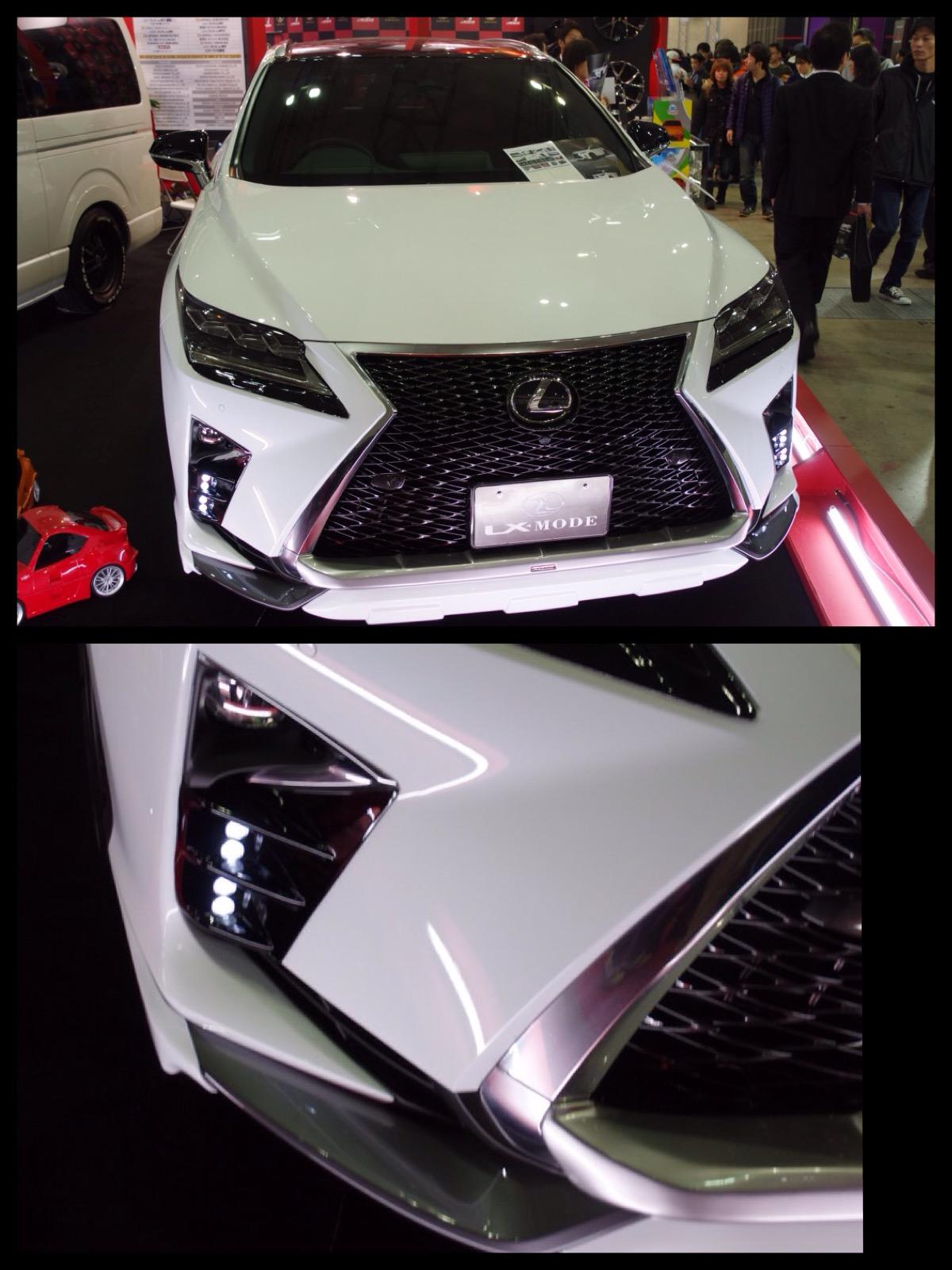 レクサス RX LX-モード カスタム 東京オートサロン2016