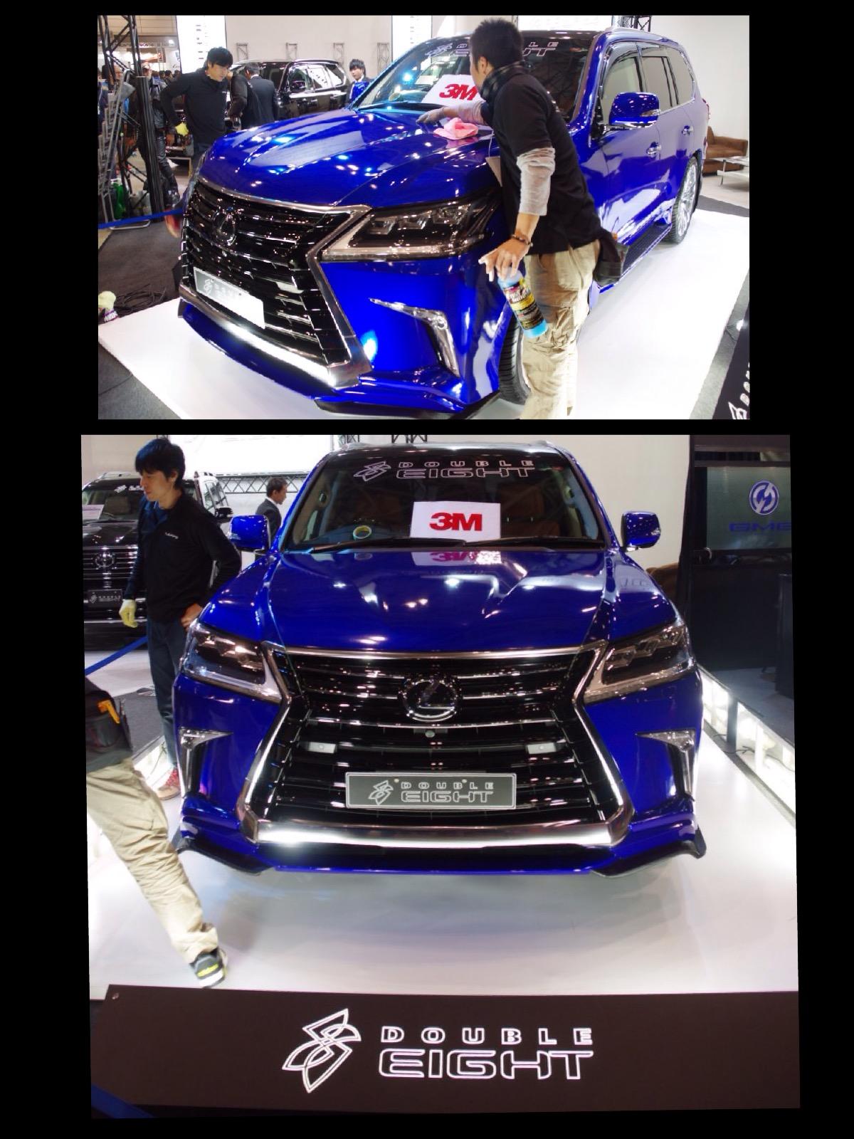 レクサス LX カスタム 東京オートサロン2016