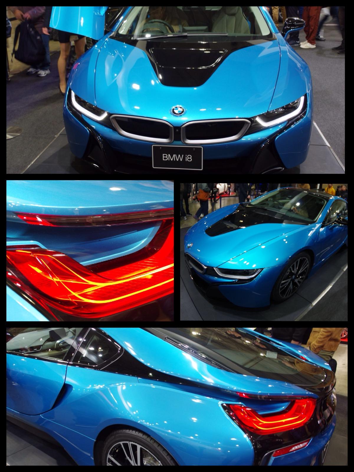 BMW i8 東京オートサロン2016