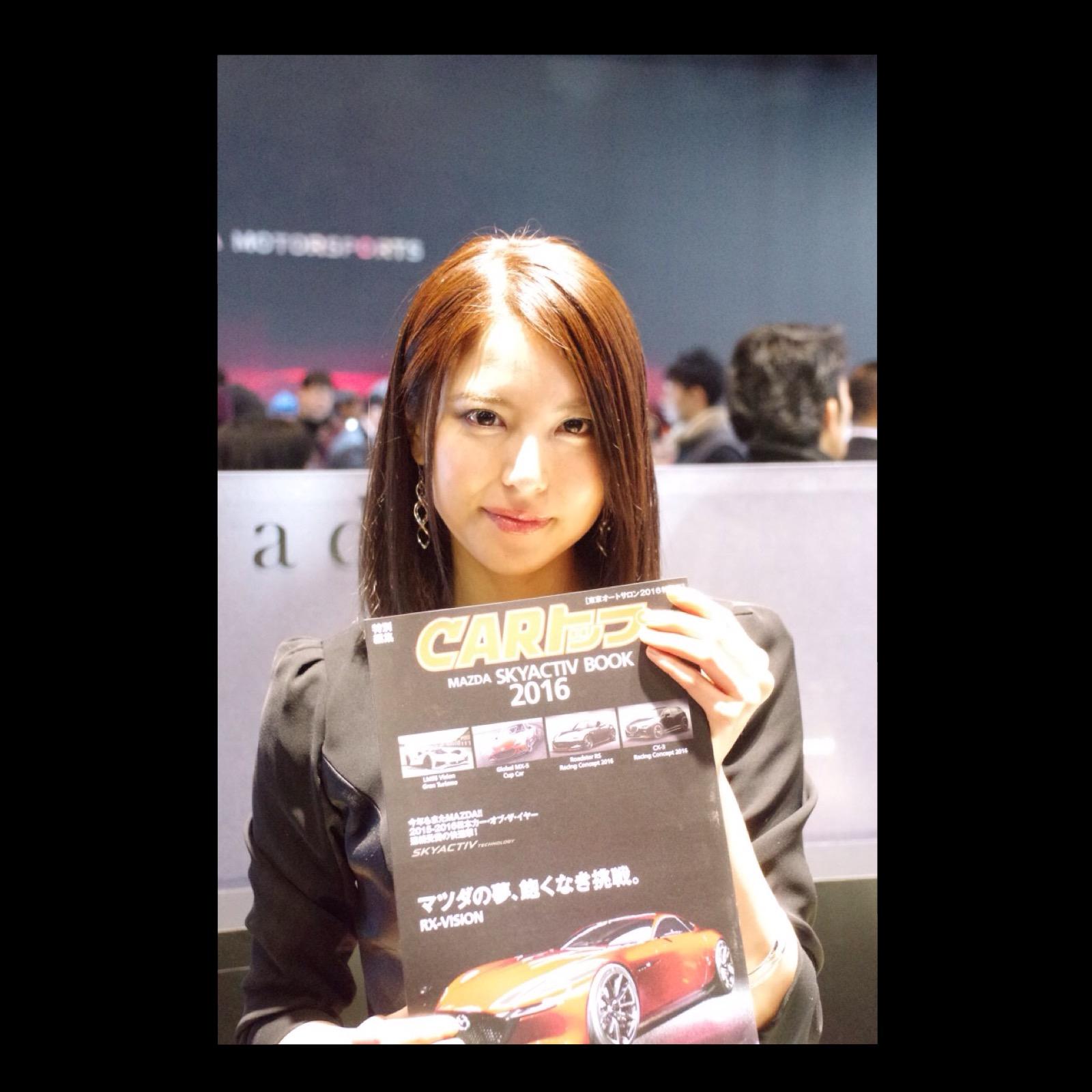 東京オートサロン2016 コンパニオン マツダ