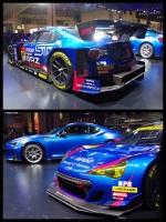 スバル SUBARU BRZ GT300 2016 東京オートサロン2016