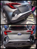 トヨタ「C-HRコンセプト」東京オートサロン2016