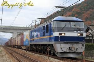 73レ(=EF210-304牽引)