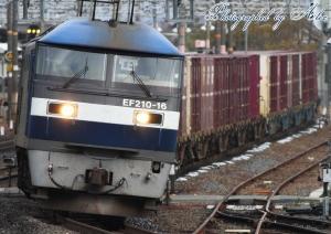 8057レ(=EF210-16牽引)