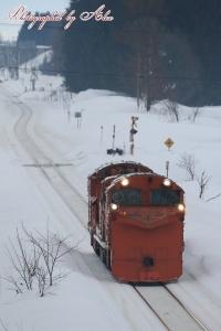 雪351レ(=DE15-2515)