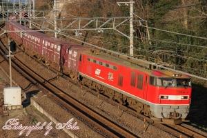 4076レ(=EF510-2牽引)