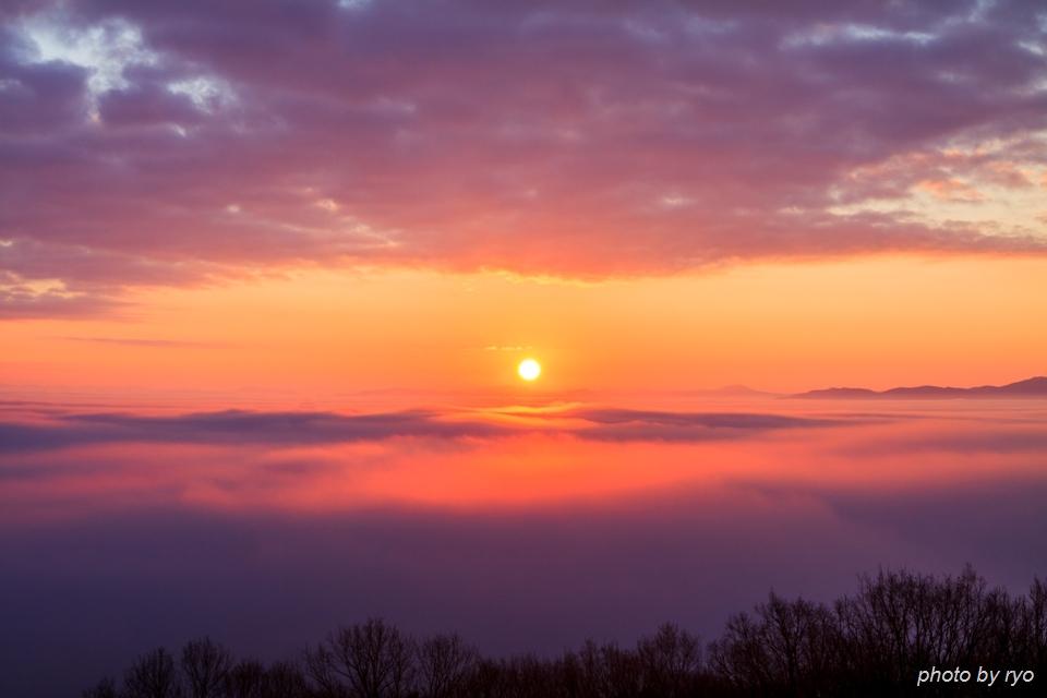 初日の出と霧の海 2016_10