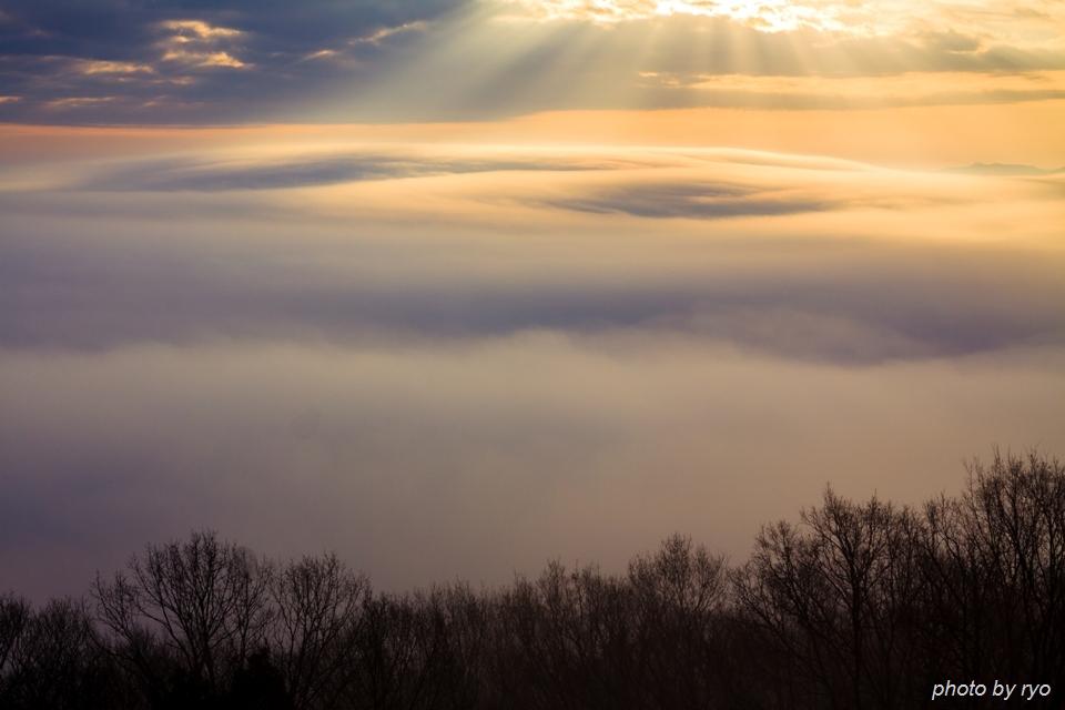 初日の出と霧の海 2016_12
